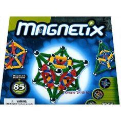 Magnetix 85 Pieces Primary Color Set #39.95
