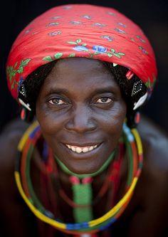 Mudimba woman - Angola by Eric Lafforgue, via Flickr