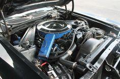 1973 Mercury Cougar XR7-351C, 4 speed manual.