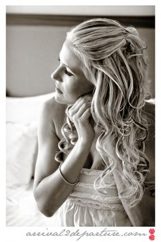Dolled up Bride, almost ready to go! Destination Wedding photo by www ...