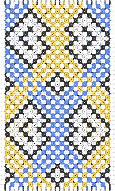 Friendship Bracelet Patterns, Friendship Bracelets, Double Mirror, Embroidery Bracelets, Color Blocking, Quilts, Blanket, Diy, Knots