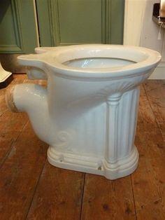 'The Virginia' Victorian P-Trap WC c 1900
