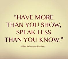 #stayhumble #havemore #showless #knowmore #speakless