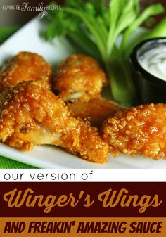 We are the home of the FIRST copycat recipe for these Wingers Wings Sticky Fingers! #wingerswings #wingsrecipe
