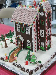 NY Gingerbread House Competition 11/10/2012. Our team's winning creation!