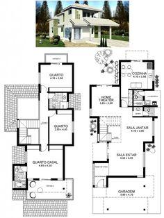 Autocad, Building Plans, Building A House, Construction, Entry Foyer, Architecture Plan, House Floor Plans, Home Projects, Bungalow