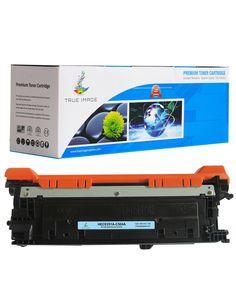 TRUE IMAGE HECE251A-C504A Cyan Toner Replaces HP CE251A (C504A)