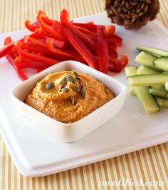 No Bean Paleo Pumpkin Hummus