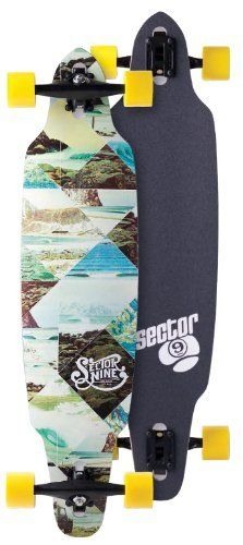 Sector 9 Platinum Series Norseman Complete Longboard - 38.1in by Sector 9. $206.40. The Norseman is the ultimate carver commuter. With a soft playful flex, you'll be carving and pumping to the next spot smiling the whole way. It has drop through truck mounts making it easier to slide with less effort to push.  All Sector 9 Completes come fully assembled and ready to ride right out of the box - with top quality factory stock Sector 9 components.