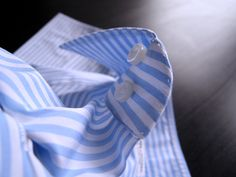 """gentlementools: """" Collar details of a bespoke Shirt by Anna Matuozzo - the real made in Italy """""""