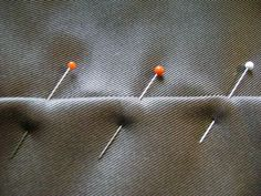 How to use pins the right way. Who knew? Not me, since I was self-taught. This could save me some injuries.
