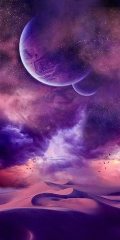 Exister autrement : – Mes Univers - Space and Astronomy Fantasy Landscape, Fantasy Art, Sky Landscape, Landscape Photos, Landscape Design, Cosmos, Alien Planet, Planet Earth, Earth 2