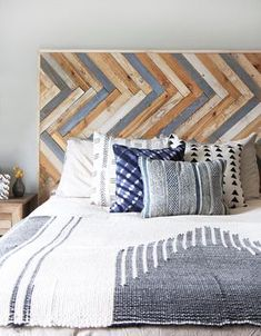 15 DIY Wood Headboards That Even The Beginner Can Build