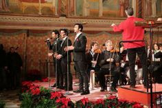 Il Volo. Christmas concert in Assisi, Italy, 2013.