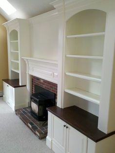 Traditional Family Room Built In Bookcase Design, Pictures, Remodel, Decor and Ideas - page 12