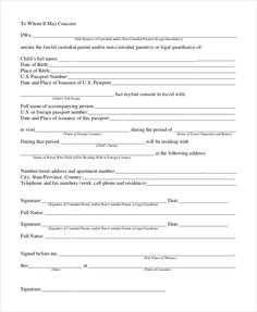 The temporary guardianship form is a free printable table that sample format permission letter for temporary guardianship form download documents pdf altavistaventures Choice Image