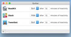 Bevor Slack, Twitter, der E-Mail-Client zur ständigen Ablenkung werden - nützliche App für störungsfreies Arbeiten http://t3n.de/news/quitter-ablenkungen-desktop-apps-702985/?utm_source=t3n-Newsletter&utm_medium=E-Mail&utm_campaign=Such