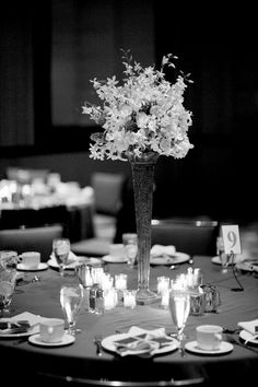 Beautiful Table Setup - Leo Ballroom Wedding