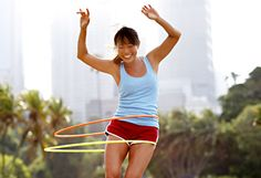 Hula Hooping is a full body workout!   I'm addicted & have only been doing it a couple of days. Has been proven to burn anywhere between 400-600 calories an hour! =)