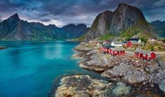 A haven for adventurers, Norway's Lofoten archipelago is just about as off-the-b... - rudi1976/123RF