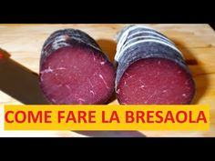 COME FARE LA BRESAOLA - YouTube Charcuterie, Sausage, The Creator, Meat, Youtube, Food, Fantasy, Kitchen, Cold Cuts