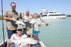It's all about the barra on a Kimberley Fishing Trip!