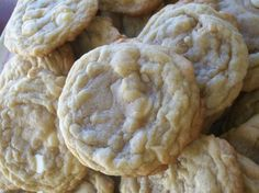White Chocolate Chip Macadamia Cookies! I made these last week and added a cup of craisins to them. Jeff said they were the best cookies I have ever made. I'm pinning, so I will be able to find the recipe again!