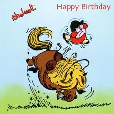 Thelwell Birthday Card - Play Thing