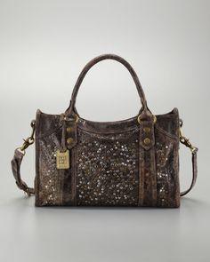 dd2c8209d0f9 Frye Deborah Studded Satchel Bag