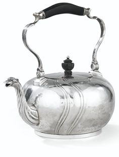 A BELGIAN SILVER KETTLE, LIÈGE, 1756-1757, APPARENTLY WITHOUT MAKER'S MARK