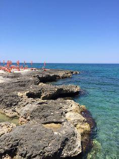 Beach club near Ostuni