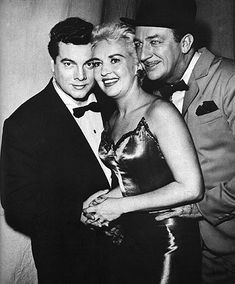 """Mario Lanza, Harry James and Betty Grable in the""""SHOWER OF STARS"""" TV Show"""