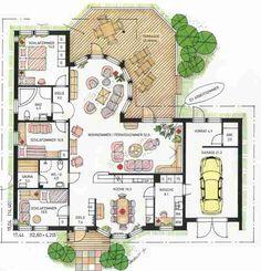 Grundriss Sörmland 3 - New Ideas Sims House Plans, Dream House Plans, Small House Plans, Cottage House Plans, Cottage Homes, Architectural Floor Plans, Home Design Plans, Architect Design, Cozy House
