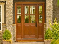 Custom Hand Crafted Exterior and Interior Wood Doors in Canada since Custom Wood Doors, Door Trims, Red Oak, Solid Wood, Maine, Shed, Exterior, Outdoor Structures, House Styles