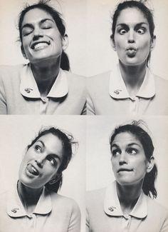 "Jane March 1999 ""Your Inner Schoolgirl"" Model: Cindy Crawford Photographer: Francois Nars"