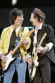 Ronnie Wood, Keith Richards