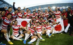South Africa 32 Japan 34, Rugby World Cup 2015 - The entertainment Japan laid   on for this audience had local hearts pounding