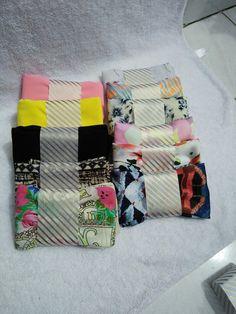 hijab segi empat dengan banyak motif limited edition