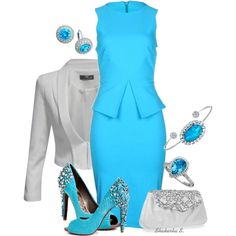 """Turquoise"" by shakerhaallen on Polyvore"