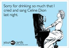 instead of Celine Dion this should Totally be Adele. lol
