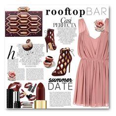 """Rooftop Bar"" by aysebt ❤ liked on Polyvore featuring Glamorous, Alexandre Birman, Lolita Lorenzo, Whiteley, summerdate and rooftopbar"