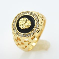 Men Gold Filled Fashion Diamond Ring //Price: $4.99 & FREE Shipping //     #fashionaccessories