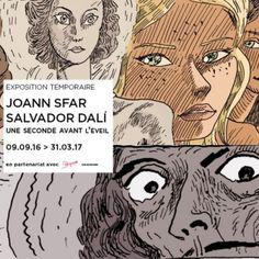 Joann Sfar et Salvador Dalí, l'expo à l'Espace Dalí