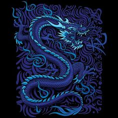 Blue Chinese Dragon. Just like Lucas except that he's not chinesse