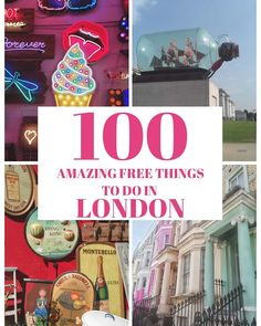London is infamous for being an expensive destination, but it doesn't need to be! Here is our list of 100 things to do in London for free. #visitlondon #londonblog #london #londonbylondoners