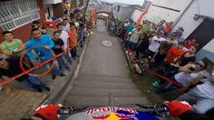 Niesamowity rowerowy zjazd w kolumbijskiej Manizales