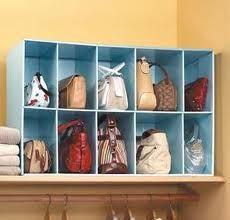 purse storage ideas - Google Search