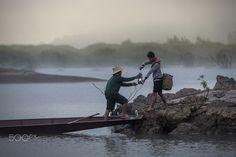 Fishermen Life Mekong River by SIRISAK BOAKAEW on 500px