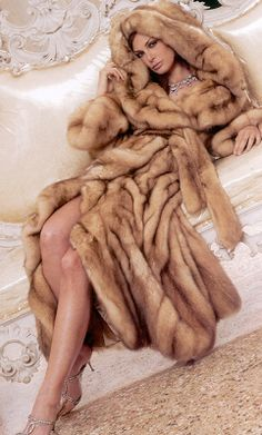 Fur Coats and Accessories: Real Fur Coats are Eco-Friendly Chic