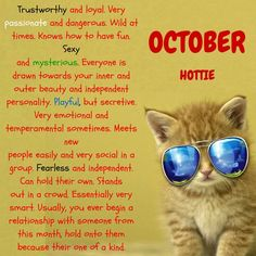 What Your Birth Month Says About Your Personality?